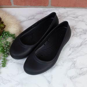 Crocs Ballet Flats Black 10